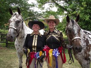 Barbara Evans & Paula Cooper