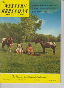 Jesse Redheart, The Western Horseman April 1955
